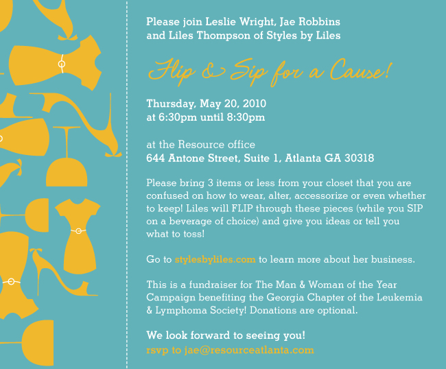 Flip & Sip for a Cause