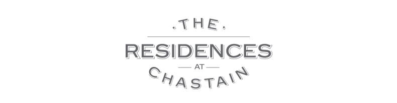 The Residences at Chastain Logomark