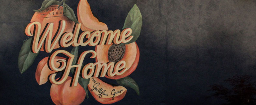 Welcome Home Mural